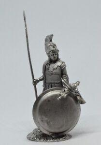 Tin soldier, figure. Greek Hoplite, 6th century BC. 54 mm