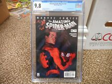 Amazing Spiderman 37 cgc 9.8 Marvel 2002 v2 WHITE pgs NM MINT legacy 478 movie