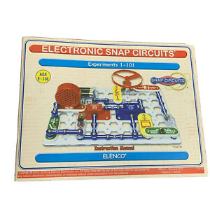 Snap Circuits Jr Electronics Discovery Kit STEM SC100 Complete Age 8+  MINT