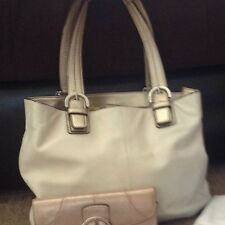 Coach Soho North/South Tote Bag With Matching Wallet EUC