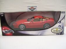 FERRARI 550 Maranello 4/4, rosso, 2002, Hot Wheels 1:18, OVP