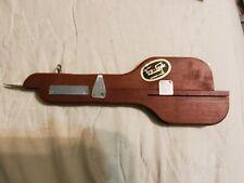New listing Vintage Wilson Brothers Tru-Gyde Latch Hook Rug Needle Wood Tool Vgc {003