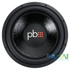 "PowerBass M-1504 15"" 425W RMS CAR STEREO SUBWOOFER SUB WOOFER 4-OHM SVC M1504"