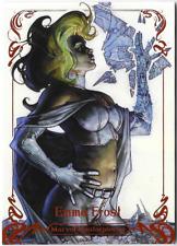 Marvel Masterpieces 2018 Simone Bianchi Legendary Orange Card #76 Emma Frost /99