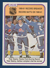 PETER STASTNY RECORD BREAKER 81-82 O-PEE-CHEE 1981-82 NO 395 ROOKIE EX+ 10698