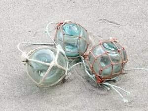 Vintage Japanese Glass Fishing Floats Marks