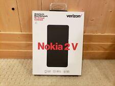 "Nokia 2 V Verizon Prepaid (Locked) 4G/LTE 5.5""/8GB, Blue/Silver Smartphone NEW"