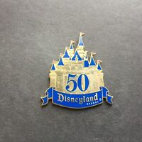 DLR - Golden 50th Anniversary VIP Press Castle Disney Pin 32860