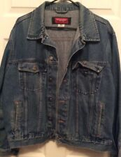 Vintage Wrangler Hero Trucker Jean Jacket Men's Size Large