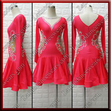 LATIN RHYTHM SALSA BALLROOM COMPETITION DANCE DRESS (LT1380)