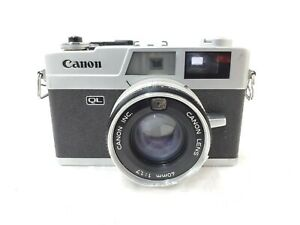 【For parts】Canon Canonet QL17 w/ CANON LENS 40mm f1.7 from JAPAN
