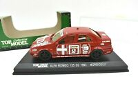Model Car Alfa Romeo 155 Top Model Scale 1/43 diecast vehicles road