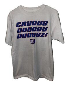 New York Giants Victor Cruz Cha Cha Salsa Dance Shirt Size Medium Reebok NYG NFL