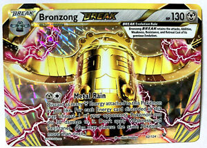 BRONZONG BREAK - 62/124 - XY Fates Collide - Ultra Rare Pokemon Card - HOLO -