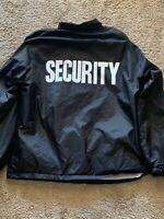 Rothco Security Duty Jacket. Gently Worn Size 3xl