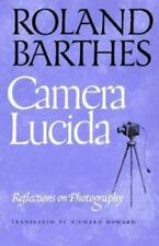Camera Lucida : Reflections on Photography by Roland Barthes (1996 Paperback)