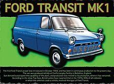Ford Transit Mark 1 fridge magnet   (og)