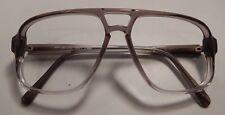 Vintage Eye Deals Foreman T.K.O. Grey Fade 60/14 Eyeglass Frame Nos #268