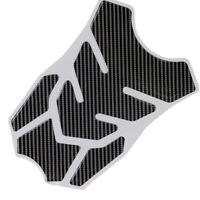 Carbon Fiber Gas Fuel Tank Pad Protector Sticker Decal Motorcycle 4pieces design