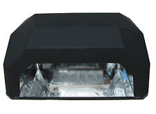 LED / UV Lamp with Timer - Black + soft touch