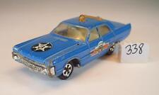 Majorette 1/70 Nr. 216 Plymouth Fury Police Polizei blau #338