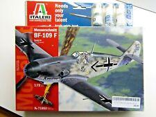 Italeri 1:72 Scale Messerschmitt BF-109 F Modelset - New - Kit # 71053