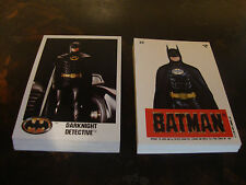 1989 Topps---Batman---Lot Of 18 Series-1 Cards + Lot Of 19 Series-2 Stickers--NM