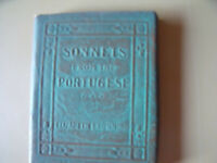 SONNETS from the PORTUGESE LIZ BROWNING Miniature Leather Bound Book