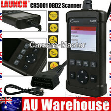 Launch CR5001 Car Fault Scanner OBD2 CAN DTC Code Reader Scan Tool AU Stock