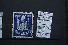 FRANCOBOLLI GERMANIA REICH USATI N°A19 (F9128)