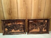 """Vintage Coppercraft Guild Canada """"Traveller's Rest"""" and """"Maple Sugar Time """""""