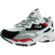 Fila Womens Ray Tracer Suede Padded Insole Fashion Sneakers Shoes BHFO 6511