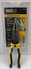 Klein Tools J207-8CR All Purpose Pliers with Crimper
