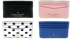 Kate Spade Staci Small Slim Card Holder Credit Card Wallet WLR00129