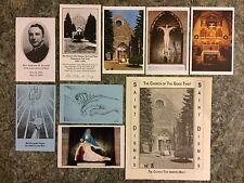 VINTAGE LOT POSTCARDS & MEMORABILIA ST DISMAS CHURCH CLINTON PRISON DANNEMORA NY