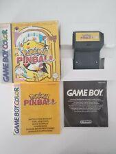 Juego Pokemon Edición Pinball GBC Game Boy Color