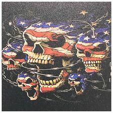 "Infused Kydex Flag Skulls Print 7.5"" X 7.5"" Sheet FREE SHIPPING"