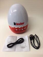 KINDER Surprise RADIO SPEAKER USB KINDERINO Eiermann Toy Turchia 2014 MOLTO RARO
