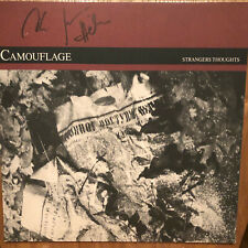 """Camouflage - Stranger Thoughts 12"""" vinyl signiert autogramm signed autographed"""