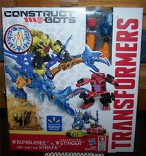 Transformers Construct-Bots BUMBLEBEE vs Decepticon STINGER with STRAFE  NISB