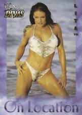 LITA 2003 Fleer WWE DIVAS ON LOCATION Insert Card  #6OL
