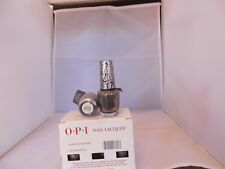 2 Full Size Bottles Of Opi Nail Laquer Silver Shatter-Nle62 New Free Shipping