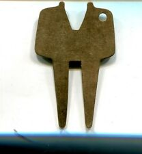 10K Gold Golf Ball Divot Tool Awesome