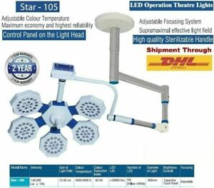 Single Arm Surgery Light Operating Surgical LED star 105 operation theater light