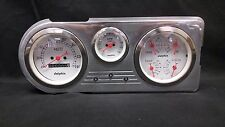 1948 1949 1950 FORD TRUCK 3 GAUGE CLUSTER WHITE