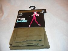 N/W/P First Looks Women's Seamless Leggings Color MOSS SIZE S/M