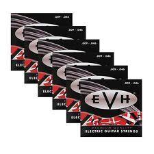 6 Sets Packs of EVH 946 Eddie Van Halen Premium Electric Guitar Strings (09-46)
