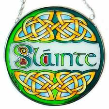 Islandcraft Slainte Stained Glass Panel CL.0072-21