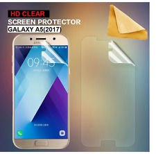 2 X Ultra Clear Screen Protector Cover Guards For Samsung Galaxy A5(2017)SM-A520
