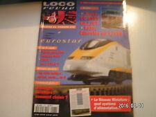 **c Loco Revue n°578 Entrepôt de bois en HO / CC 6553 Jouef au 1/87